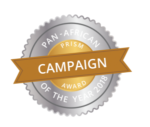 Winner of the pan-African Campaign of the Year Award for our work on the Africa Code Week Campaign for SAP.